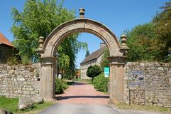 Historical Archway. Shot of a Historical Archway in Germany Stock Photography
