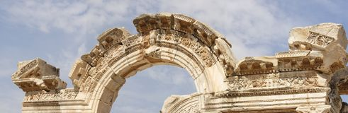 Historical areal of Ephesus Royalty Free Stock Photo