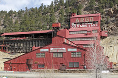 Historical Argo Gold Mine and Mill Royalty Free Stock Photo