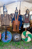 Historical armor clothing Royalty Free Stock Image