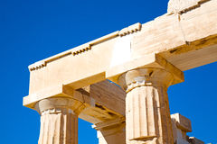 Historical   athens in   and historical place parthenon Stock Image