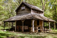 Historical Barn of Years Past royalty free stock image