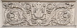 Historical bas-relief. Bas-relief in a historical building in Hannover Germany Stock Images