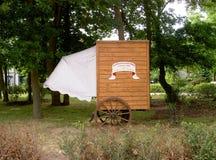 Historical bathing machine Stock Image