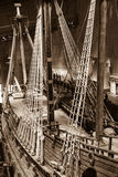 Historical battle ship Vasa in Stockholm, Sweden Stock Images