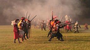 Historical Battle of White Mountain Stock Photo