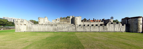 The historical and beautiful Tower of London Royalty Free Stock Images