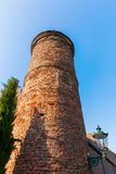 Historical bergfried in Bedburg Alt-Kaster, Germany Stock Image