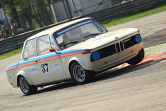 Historical BMW Race Royalty Free Stock Photos