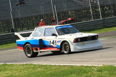 Historical BMW Race Royalty Free Stock Photo