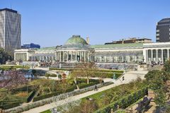 Historical Botanique public garden Royalty Free Stock Images
