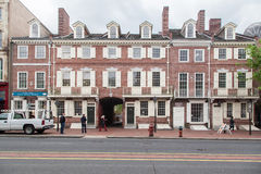 Historical Brick Building Philadelphia Stock Image