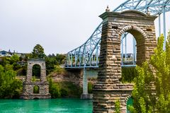 Free Historical Bridge, Alexandra, New Zealand Royalty Free Stock Image - 157414696