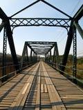 Historical bridge over the pai river in Mae hong son, Thailand Stock Photos