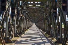 Historical bridge in Tczew, Poland. Historical bridge over the river Vistula, Tczew - Poland royalty free stock photo