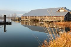 Historical Brittania Heritage Shipyard, Steveston Royalty Free Stock Photo