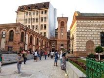 Historical Bucharest arhitecture Stock Image