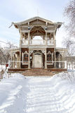 Historical building. Historic building is situated in the estate, B. N. Sukachev, in the city of Irkutsk Stock Image