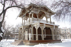 Historical building. Historic building is situated in the estate, B. N. Sukachev, in the city of Irkutsk Stock Photos