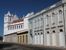 Historical building. Building of the historical center of Belem - Brazil Stock Photos