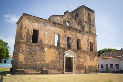 Historical building of Alcantara Stock Photography