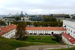 Historical building of the Arsenal - a monument of history and culture in Vilnius. Royalty Free Stock Image