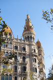 Historical Building in Barcelona Stock Photography