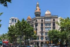 Historical Building Barcelona Stock Photo