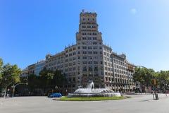 Historical building, Barcelona Royalty Free Stock Photo