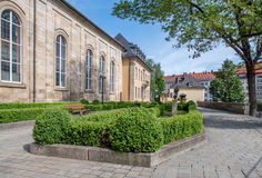 Historical building - Bayreuth old town Royalty Free Stock Photos