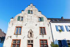 Historical building in Bedburg Alt-Kaster, Germany Royalty Free Stock Image