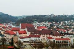 Historical Building of the catholic University of Eichstaett Royalty Free Stock Photo