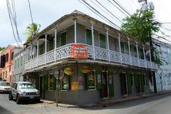 Historical Building in Charlotte Amalie, US Virgin Islands Stock Photos