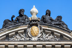Historical building in Dresden Royalty Free Stock Photography