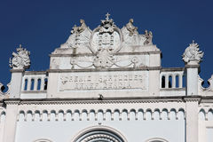Historical Building Facade Amparo Stock Image