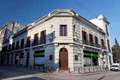 Historical Building Facade in Montevideo Stock Photos