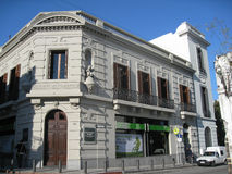 Historical Building Facade in Montevideo Stock Image