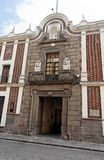 Historical Building Facade Puebla Royalty Free Stock Photography