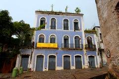 Historical Building Facade Sao Luis do Maranhao Royalty Free Stock Photo