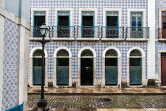 Historical Building Facade Sao Luis do Maranhao Stock Photo