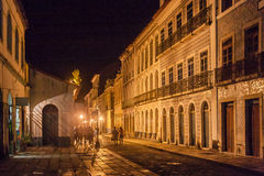 Historical Building Facade Sao Luis do Maranhao Stock Images
