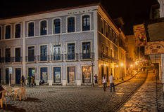Historical Building Facade Sao Luis do Maranhao Stock Photos