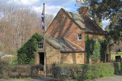 Historical building Fitzroy garden Melbourne Australia Royalty Free Stock Photos