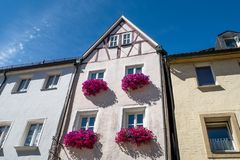 Bayreuth old town Ano 1686 royalty free stock photo
