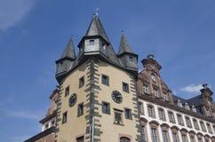 Historical building in Frankfurt Stock Photography