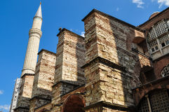 Historical Building Of Hagia Sophia Royalty Free Stock Photography