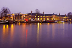 Historical building Heritage in Amsterdam the Netherlands by nig Stock Photo