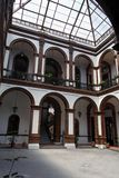Historical Building Inner Garden Toluca Stock Photos