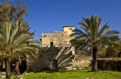 Historical building in Israel Royalty Free Stock Images