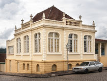 Historical Building Lapa Parana Stock Image
